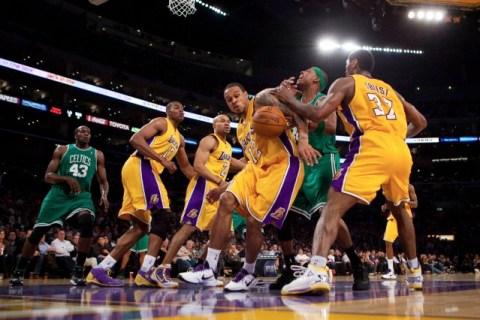 NBA: FEB 18 Celtics at Lakers