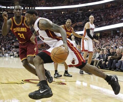 Miss Me Lebron James Miami Heat Torches Cleveland Cavaliers Time Com