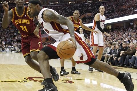 Miami Heat v Cleveland Cavaliers, LeBron James