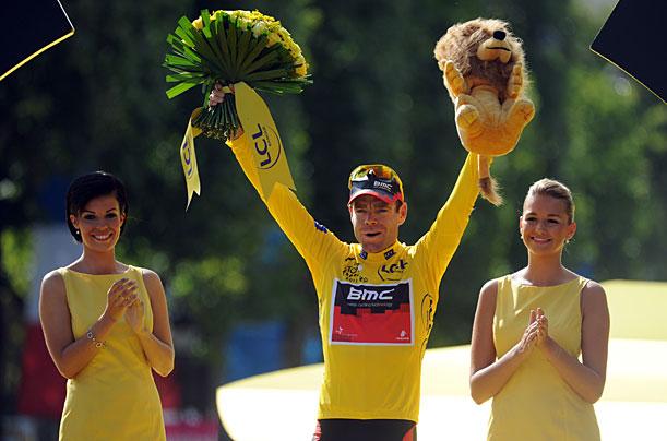 2011 Tour de France Winner Cadel Evans