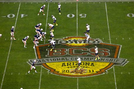 Tostitos BCS National Championship Game - Oregon v Auburn