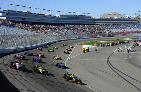 IZOD IndyCar World Championships at Las Vegas