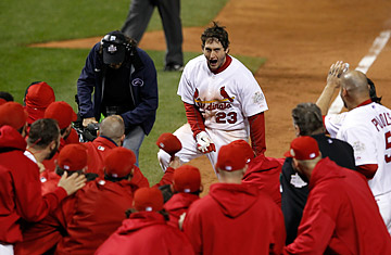 St. Louis Cardinals' David Freese