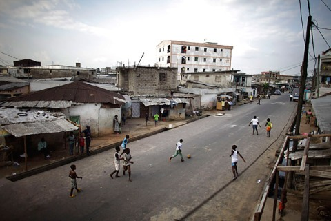 The Streets of Cameroon
