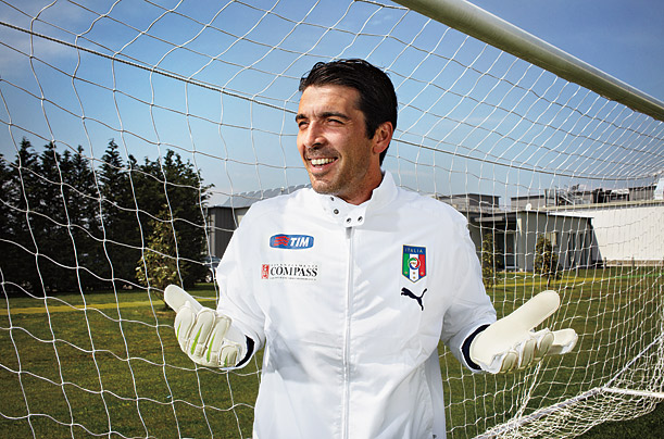 Gianluigi Buffon, Italian Goalkeeper
