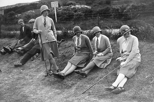 F.G Nielson, J McCulloch, Mrs. Hugh McCall, D Allan, 1930