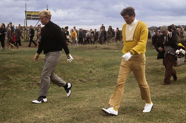 Jack Nicklaus and Doug Sanders, 1970 British Open