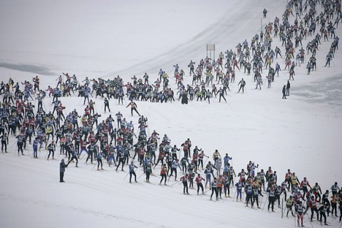 Engadin Ski Marathon, Sils, Switzerland