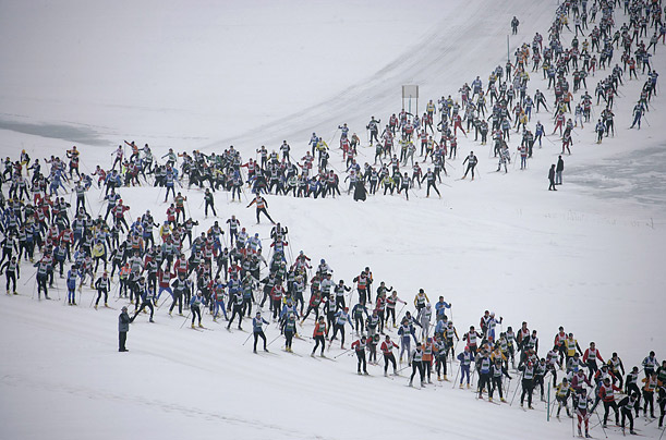 Engadin Ski Marathon, Sils, Switzerland