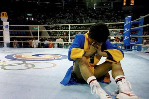 1988 Seoul Olympics, South Korean boxer Byun Jong Il