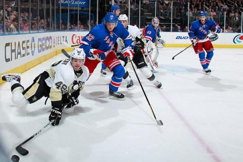 Rangers Penguins NHL
