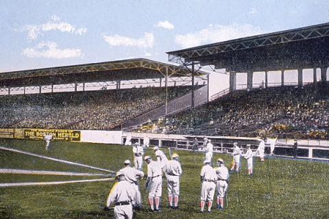 Opening Day Fenway 1912