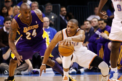 Russell Westbrook, Kobe Bryant