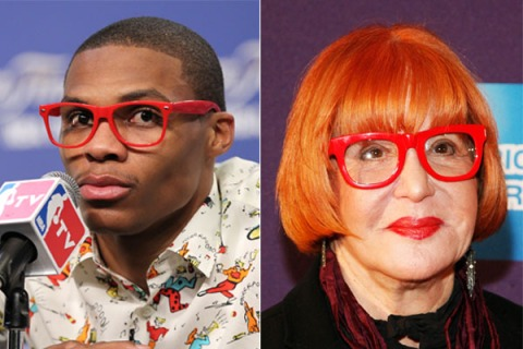 Russell Westbrook and Sally Jesse Raphael