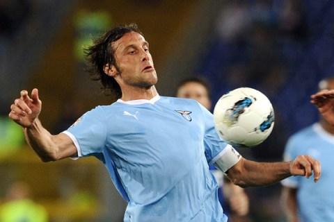 Lazio's midfielder Stefano Mauri