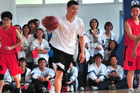 Jeremy Lin in China