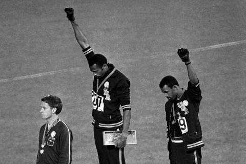 Black Power Salute 1968