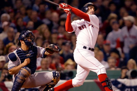 BOSTON RED SOX WALKER SOLO HOME RUN AGAINST YANKEES.