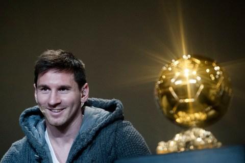 Fussball - FIFA Ballon D'Or 2012