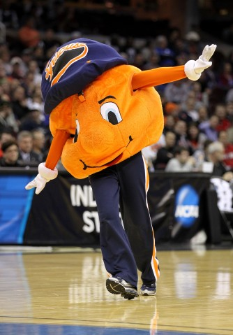 Syracuse's Otto the Orange