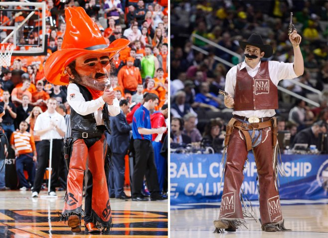 Pistol Pete of Oklahoma... and New Mexico