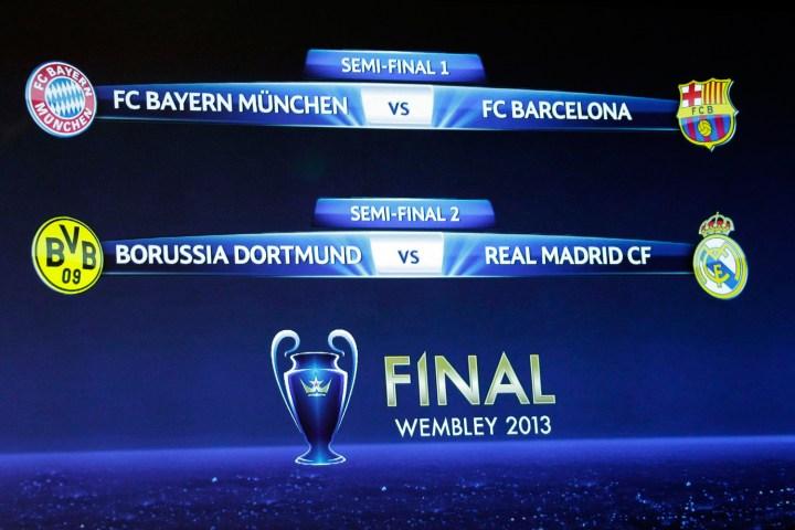 Bayern Munich Vs Barcelona And Borussia Dortmund Vs Real Madrid A Preview Of The Champions League Semi Finals Time Com