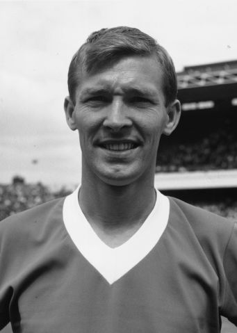 Footballer Alex Ferguson, Glasgow Rangers' newly-signed centre forward, on Aug. 9, 1967.
