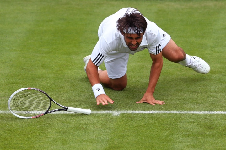 How Wimbledon's Mighty Have Fallen