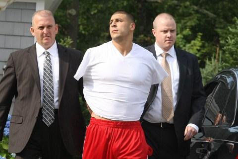 Arrest Of New England Patriots Player Aaron Hernandez