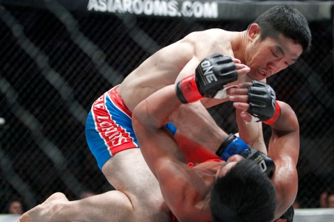 One Fighting Championship mixed martial arts in Manila