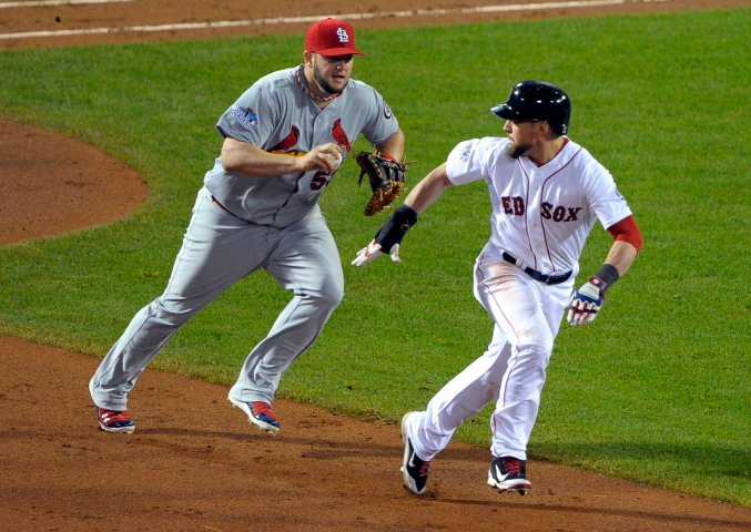 World Series-St. Louis Cardinals at Boston Red Sox