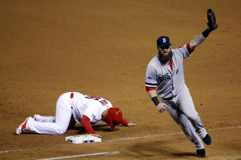 APTOPIX World Series Red Sox Cardinals Baseball