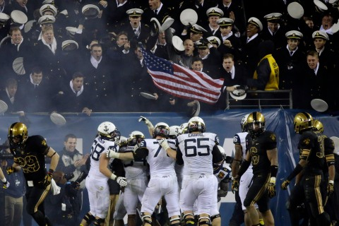 Government Shutdown Service Academies Football