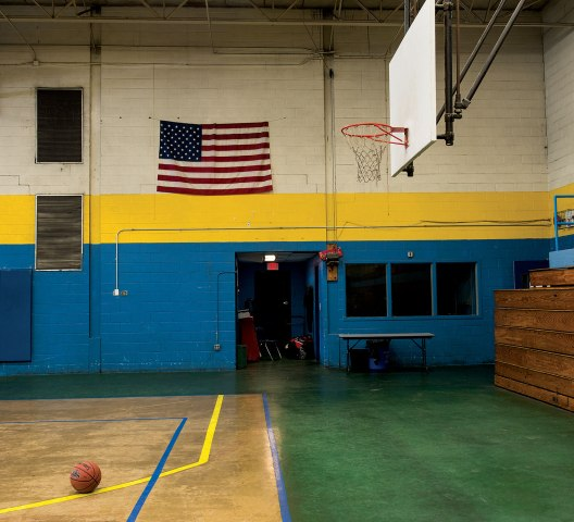 Childhood hoop of Shaquille O'Neal at the Boys and Girls Club of NewarkNewark, N.J.