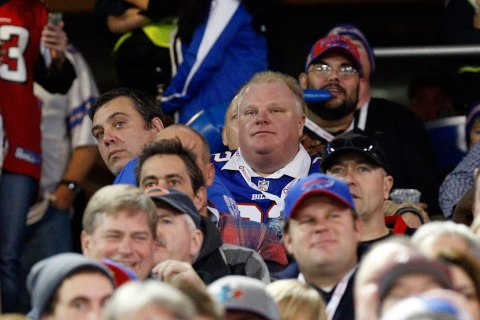 Toronto city mayor Rob Ford