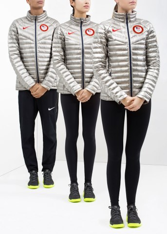 Nike's Team USA Medal Stand Footwear and Apparel