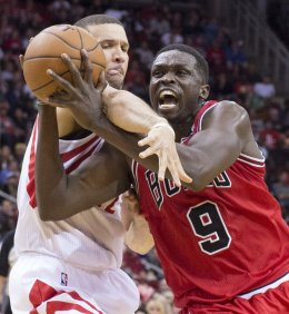 CHICAGO BULLS VS. HOUSTON ROCKETS