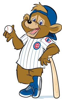 Clark, the new Chicago Cubs mascot