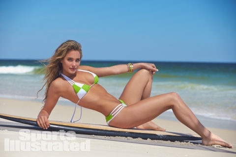 Hannah Davis in the 2014 Sports Illustrated Swimsuit Issue