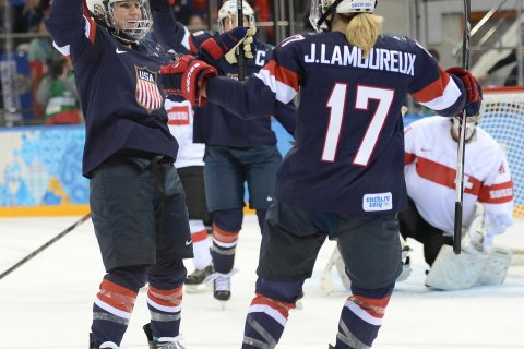 USA v Switzerland Women's Ice Hockey