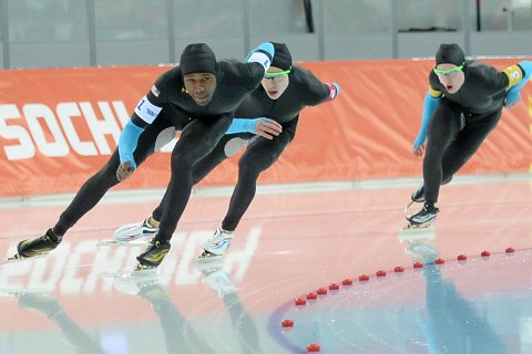 Men's Pursuit Speed skating