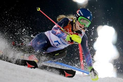 APTOPIX Sochi Olympics Alpine Skiing Women
